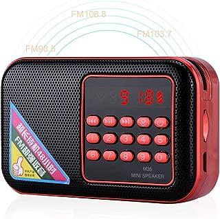 Kafuty DSP Mini Digital Portable Radio Batteria Non Inclusa Radio Digitale Personale con Display LCD e Auricolari Cordino
