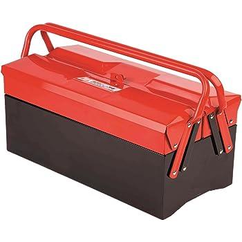Heco M96597 - Caja herramientas metal 102.3: Amazon.es: Bricolaje y herramientas