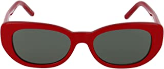 Luxury Fashion | Saint Laurent Womens SL316004 Red Sunglasses | Fall Winter 19