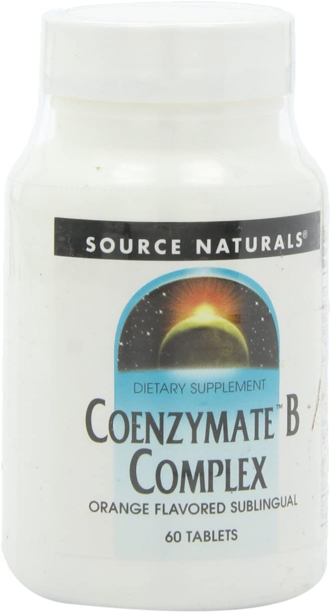 Source Naturals Coenzymate Shipping included B Complex Quick Ranking integrated 1st place Dissolve Acting Fast