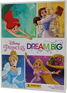 Panini 2017 Disney Princess 'Dream Big' Sticker Album