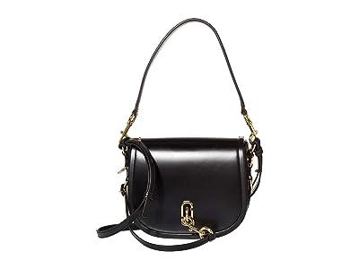 Marc Jacobs The Saddle Bag (Black) Handbags