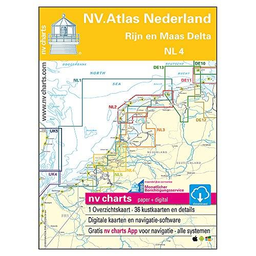 Niederlande, Satz NL 4 - Rhein und Maas-Delta (NV. Atlas Kombipack)