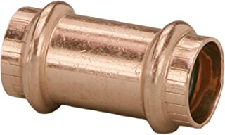 Viega 78177 ProPress Zero Lead Copper Coupling without Stop 3/4-Inch P x P, 10-Pack