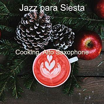 Cooking, Alto Saxophone