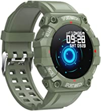 UIEMMY slim horloge ECG-gezondheidsmonitor Hartslagmeter Bluetooth Smart Watch Lange stand-by Sport Fitness Polsbandhorlog...