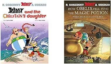 Asterix And The Chieftain'S Daughter: Album 38 + How Obelix Fell Into The Magic Potion (Asterix) (Set of 2 Books)
