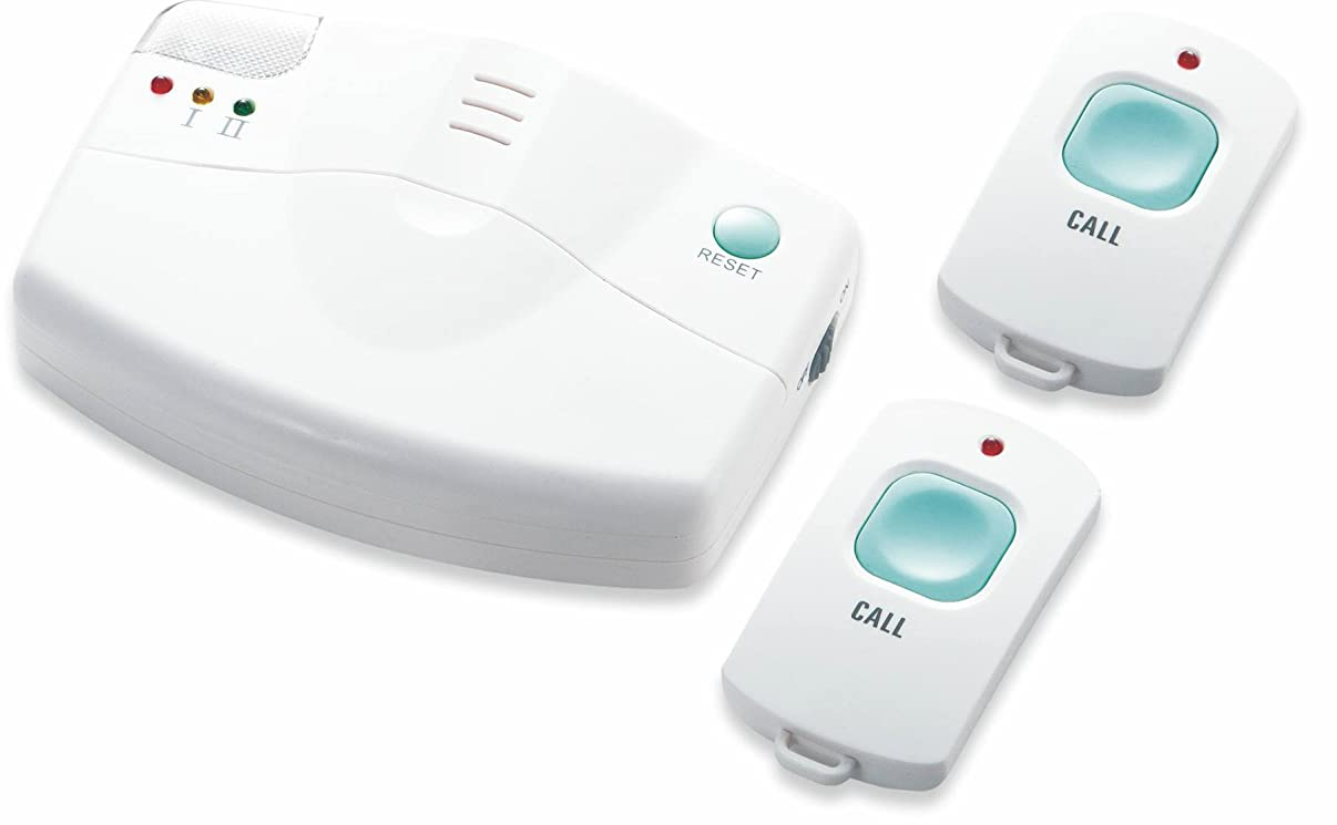 Lifemax Wireless Home Panic Safety Alarm Emergency Alert System with 2 Pendants