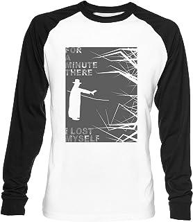 Los Karma Policía Unisex Blanca De Béisbol Camiseta Hombre Mujer Baseball T-Shirt