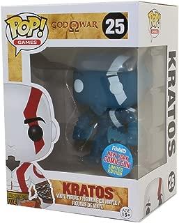 Funko God of War Funko POP! Games Kratos Exclusive Vinyl Figure #25 [Blue, Glow-in-the-Dark]