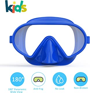 Fxexblin Kids Swim Mask Swimming Goggles with Nose Cover...