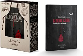 Bloody Good Diet Cookbook - Written and bitten by Count Dracula: Book and Apron Set (Classics In The Kitchen)