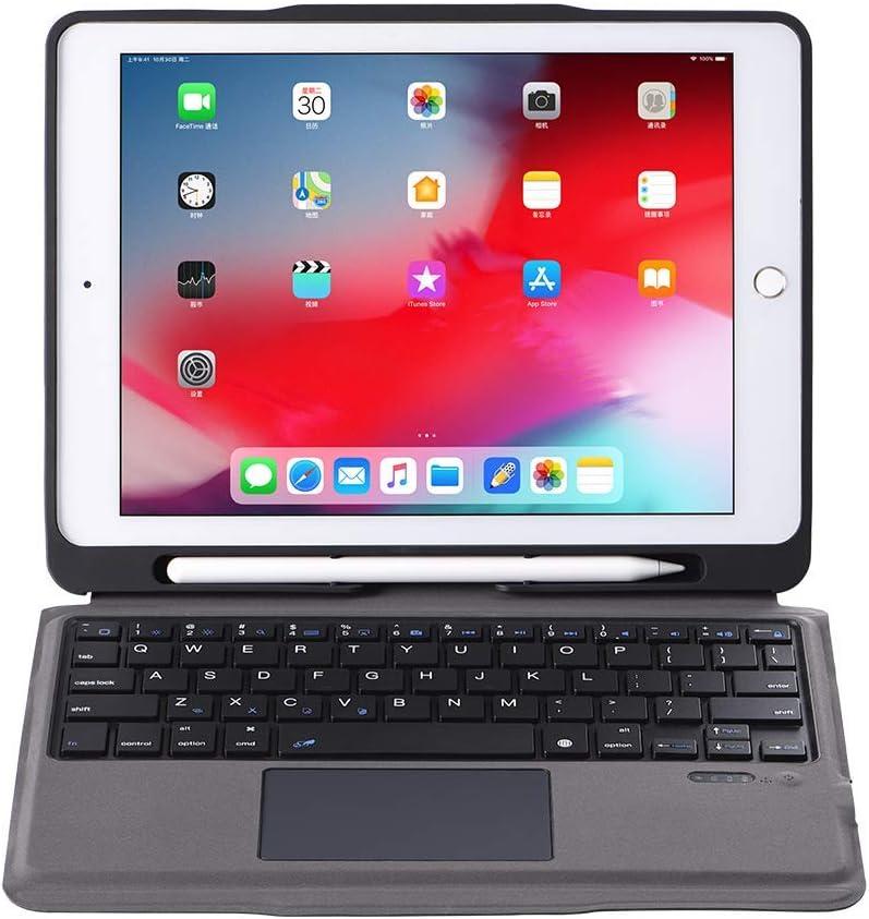 iPad Keyboard Case for iPad 2018 (6th Gen) - iPad 2017 (5th Gen) - iPad Pro 9.7 - iPad Air 2&1 - Wireless/BT - iPad Case with Keyboard for iPad OS (Rose Gold)
