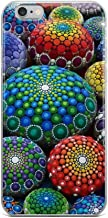 iPhone 6 Plus/6s Plus Pure Clear Case Cases Cover Jewel Drop Mandala Stone Collection #1