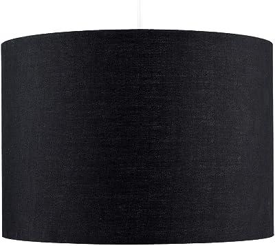 MiniSun Abat-Jour Tissu Noir