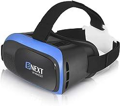 VR هدست برای گوشی های آیفون و آندروید - جهانی عینک واقعیت مجازی Ver2.0 - بازی بهترین بازی های موبایل خود را 360 فیلم با نرم و راحت 3D جدید عینک VR   + سیستم حفاظت چشم قابل تنظیم