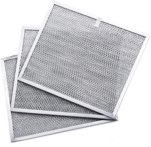 """BPS1FA30 Range Hood Filter Grease Filter 99010299 11-3/4' X 14-1/4' X 3/8' Replacement part by Blue Stars for Broan QS1 30"""" and NuTone Allure 30' WS1 - PACK OF 3"""