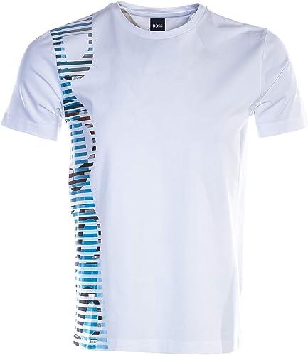 BOSS Tee 9 T Shirt in blanc