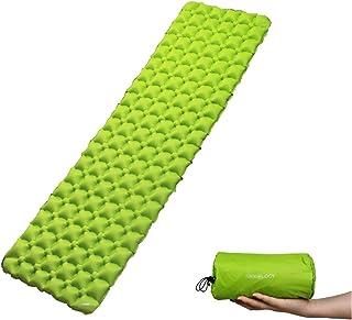 Trekology Inflatable Sleeping Pad, Camping Mats for Sleeping - Compact Lightweight Camp Mat, Ultralight Comfortable Backpa...