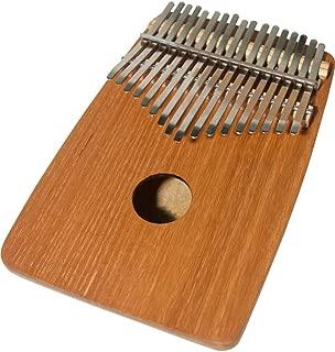 DOBANI 17-KEY KALIMBA THUMB PIANO WITH ROUNDED BACK - RED CEDAR