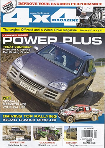 4x4 Magazine (February 2016 - Engine Tuning Guide)