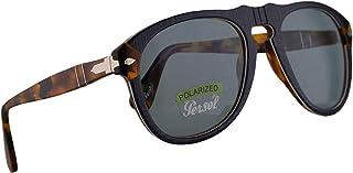 d0ec9a3357 Persol 649 Sunglasses P.Galles Blue w/Polarized Blue Lens 52mm 10903R  PO0649 PO649