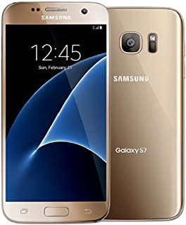 Samsung Galaxy S7 SM-G930T - 32GB - GSM Unlocked - Gold Platinum (Renewed)