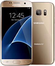 Samsung Galaxy S7 G930T T-Mobile Unlocked GSM 4G LTE Smartphone w/ 12MP Camera - Gold (Renewed)