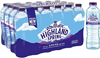 Highland Spring Water Still PET - 500 ml (Pack of 24)
