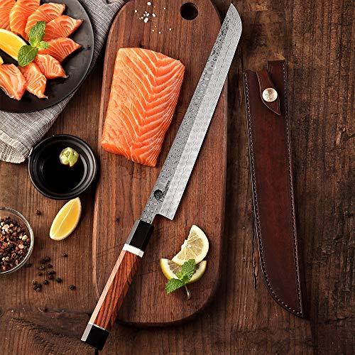 Sakimaru Yanagiba & Japonés Cuchillo de chef 270 mm & Octagonal Full...