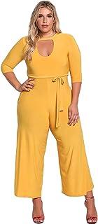 951997c72a Amazon.com: Plus Size Women's Jumpsuits
