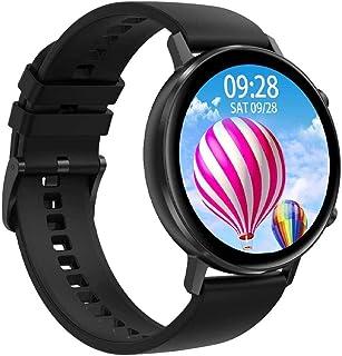 DHTOMC Reloj inteligente inteligente, actividad física, monitor de ritmo cardíaco, pantalla táctil, monitor de sueño, IP67...