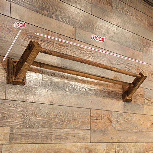 Special hangers XZG Creative Coat Rack, Tienda de Ropa Retro Tienda de Ropa para Hombres Perchero Sala de Estar Estilo Artesanal Perchero Expositor Longitud 60-120CM Tienda de Ropa (Color : #3)