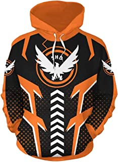 Yi Fang Tom Clancy's The Division Cosplay Costume 3D Sweater Cosplay Anime 3D Wweater Hoodie