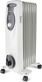 Orbegozo RA 1500 E, Radiador de Aceite, Construcción Modular de 7 Elementos, 1500 W, Blanco