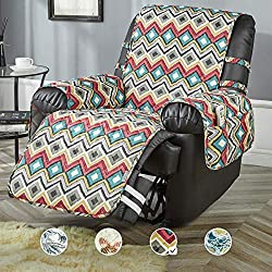 commercial Chair cover STONE CREST, waterproof chair cover with print, washable furniture cover … recliner slipcovers