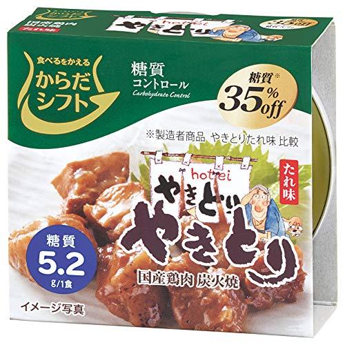三菱食品 からだシフト『糖質コントロール やきとり たれ味』