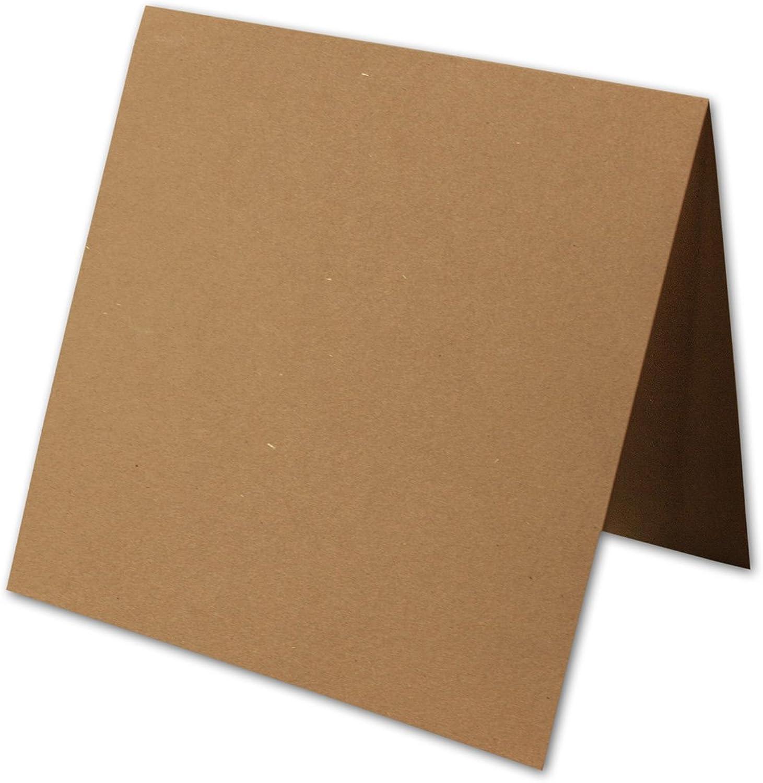 50 Stück    Artoz Grün-Line Doppelkarten    Quadratisch, 310 x 155mm, Farbe  grocer kraft B00V885HBA | Vorzüglich  | Online Kaufen  | Offizielle Webseite