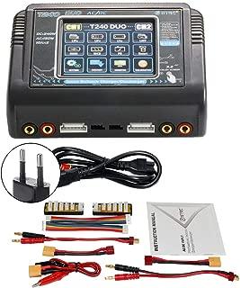 Fuente de Alimentacion 60W con Pantalla Digital UP-60AC RCTecnic Cargador de Bater/ía LiPo 2-4S Cable alimentaci/ón USB NiMh 6-8S Carga Inteligente Comprobador Bater/ías