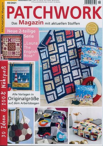 "Patchwork Magazin 5/2021 \""30 Ideen & 100{f44b158f0a89288be2d8d649756dcd4adffbf950574fb216fb00c3fd87d48fe6} Nähspaß\"""