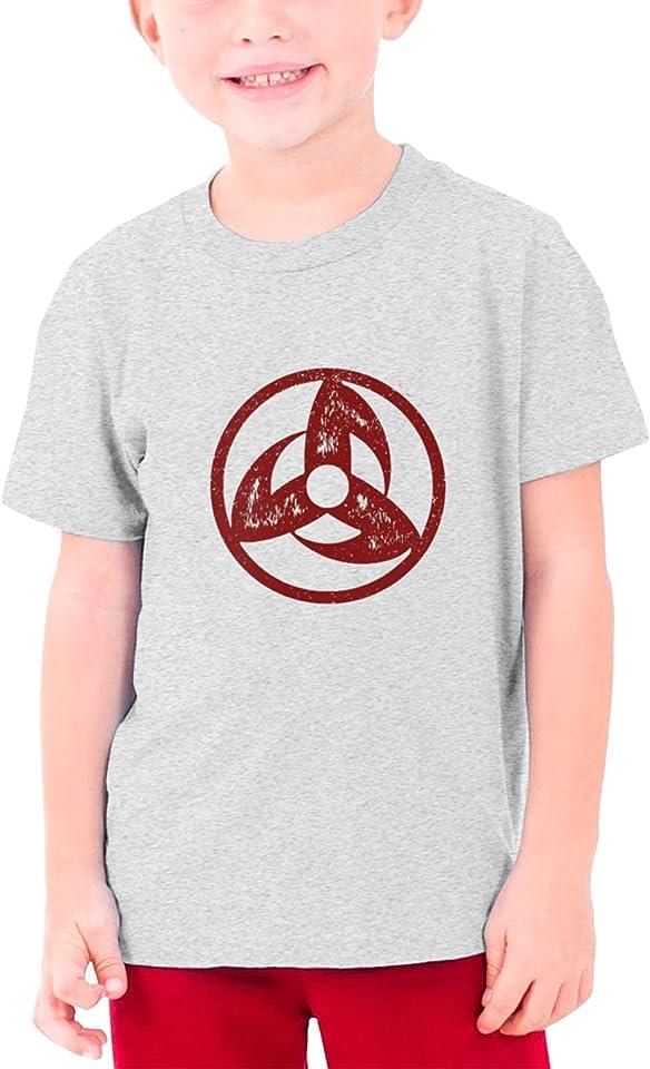 Gumiho T Shirt Short Sleeve Crew Neck Shirt for Boys Girls