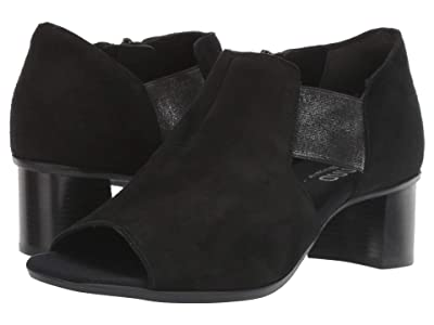 Munro Sable (Black Suede) Women