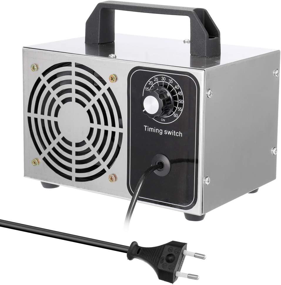 Generador de ozono aire 220V 20G,purificador de aire ozonizador esterilizador ozono de aire con Interruptor de Tiempo