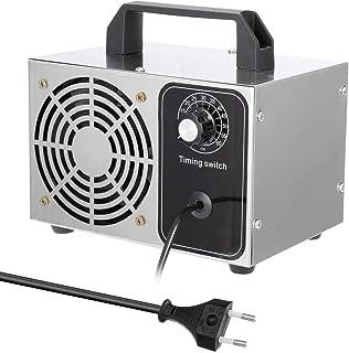 Purificador Aire, 24g / h 220V Portátil Máquina de Desinfección de Ozonizador Filtro de Aire, Purificador Ventilador para Hogar Coche Esterilización de Formaldehído