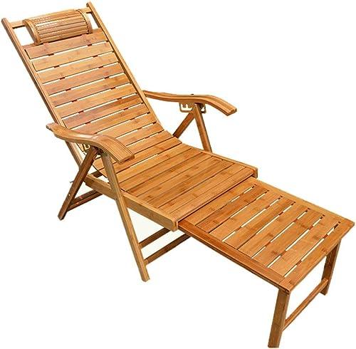 a la venta Plegable Lunch Break Break Break Lounge Chair Bamboo Recliner Old Man Nap Silla Mecedora Adult Back Chair Cool Chair Nap Lounge Chair ( Color   Lengthened )  garantizado