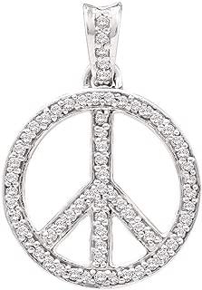 Best diamond peace sign Reviews
