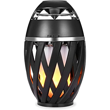 Waterproof Bluetooth Speaker, Portable Wireless Speaker Bluetooth 4.2 Bass Stereo Outdoor Speakers with Lights for Party Travel Home