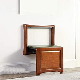 折り畳み式の靴のベンチ、壁のフットスツール、家のアクセスが座っていることができます、スーパーボー木材生産はスペースを取りません、任意の2色 JSFQ (Color : B)