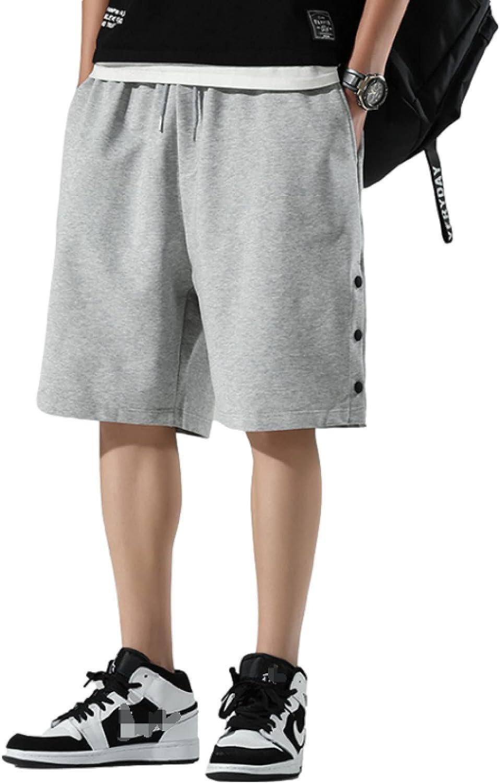 Wantess Men's Summer Shorts Loose Breathable Casual and Comfortable Drawstring