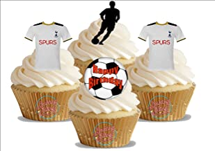 tottenham cupcake toppers